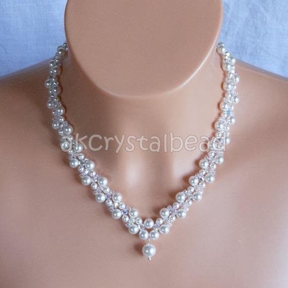 choker crystal necklace akcrystalbead
