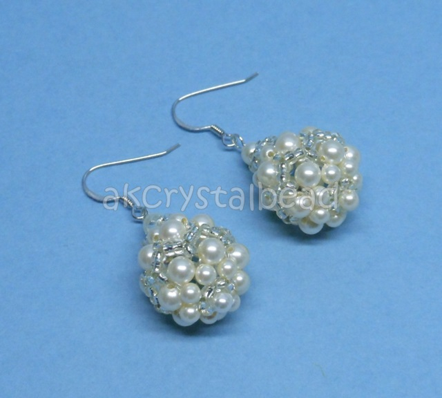 Handmade Pearl Earrings Designs Pearl Earrings Design